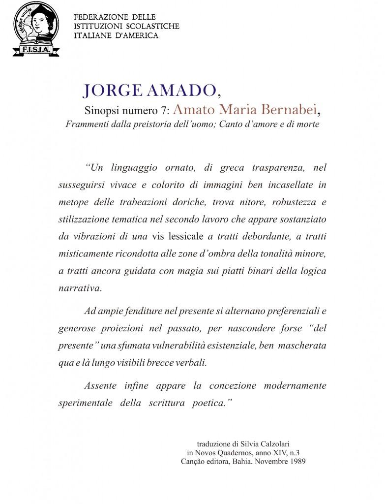 Recensione di Jorge Amado Sinopsi